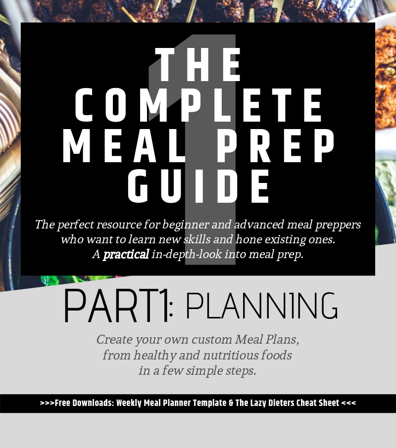 The Complete Meal Prep Guide Part 1: Planing