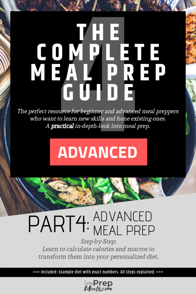 The Complete Meal Prep Guide Part 4